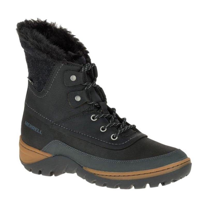 Merrell Sylva Mid Lace Waterproof 38 Black