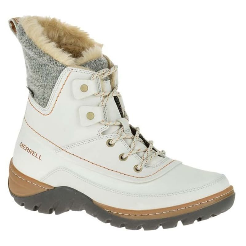 Merrell Sylva Mid Lace Waterproof 40 Silver Lining