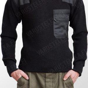 Mil-Tec BW-mallin villapaita musta
