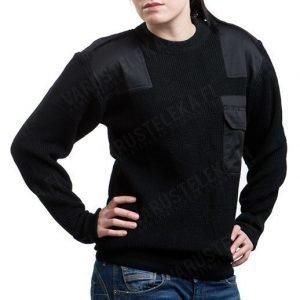 Mil-Tec BW-mallin villapaita musta tyttökuvalla