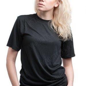 Mil-Tec CoolMax T-paita kosteutta siirtävä musta tyttökuvalla