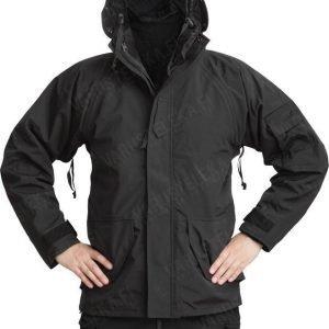 Mil-Tec ECWCS-takki irroitettavalla fleece-vuorilla musta