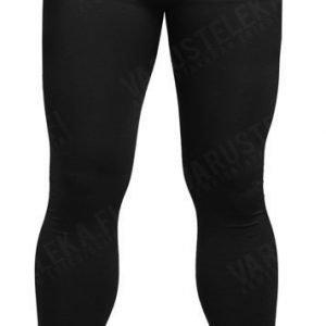 Mil-Tec Sports alushousut pitkät kosteutta siirtävät mustat