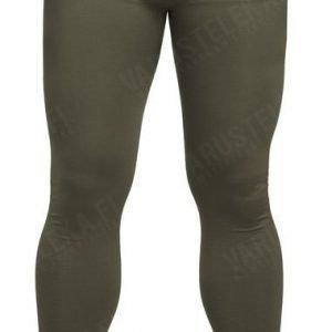 Mil-Tec Sports alushousut pitkät kosteutta siirtävät oliivinvihreät