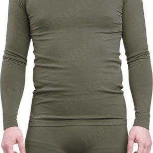 Mil-Tec Sports pitkähihainen paita kosteutta siirtävä oliivinvihreä
