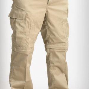 Mil-Tec Zip-Off BDU-reisitaskuhousut khakit