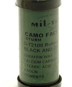 Mil-Tec naamioväripuikko musta/vihreä