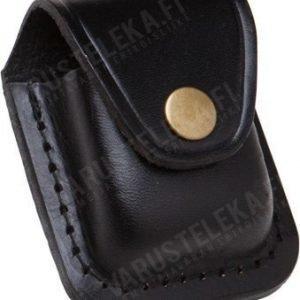 Mil-Tec sytyttimen nahkakotelo Zippo-malli musta