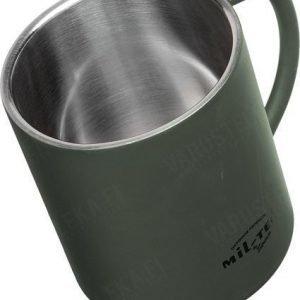 Mil-Tec termosmuki 450 ml oliivinvihreä