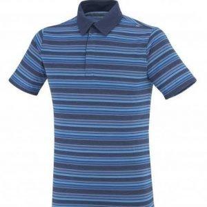 Millet Striped Zip Polo Sininen L