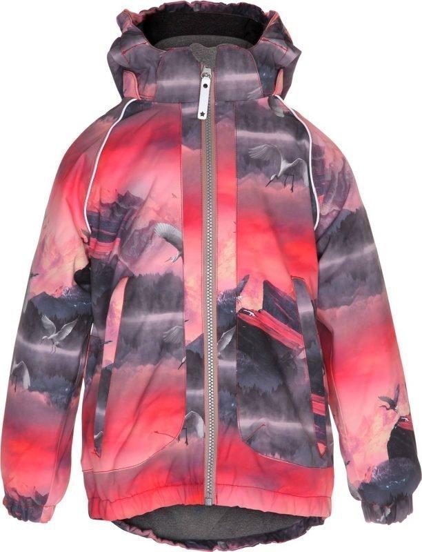 Molo Cathy Jacket Pink Mountain 140