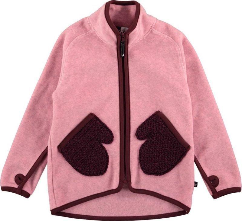 Molo Ushi Fleece Pinkki 110