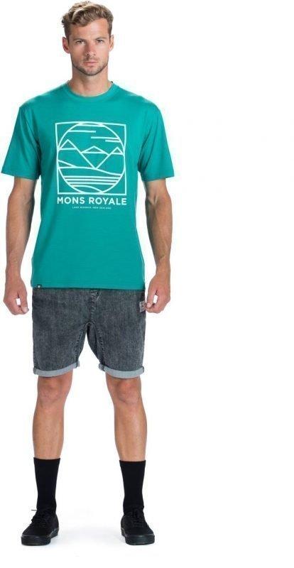 Mons Royale Classic T Sininen XL