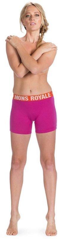 Mons Royale Hot Pant Fuksia S