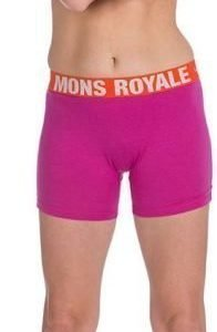 Mons Royale Hot Pant Fuksia XS