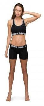 Mons Royale Hot Pant Musta L