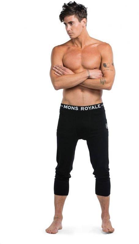 Mons Royale Shaun-Off 3/4 Long John Musta L