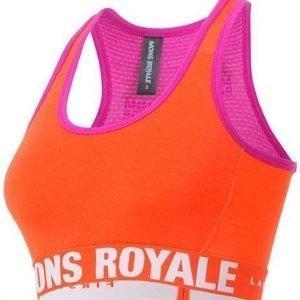 Mons Royale Sports Bra Oranssi M