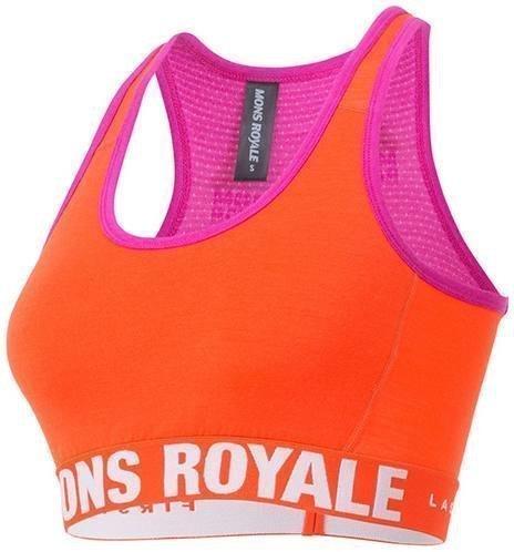 Mons Royale Sports Bra Oranssi S