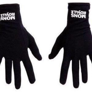 Mons Royale Volta Glove Liner Musta M