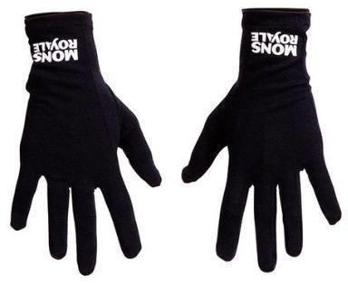 Mons Royale Volta Glove Liner Musta XL