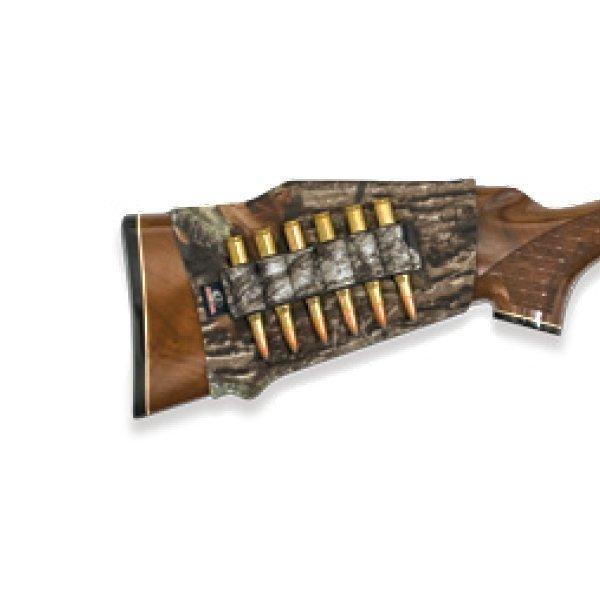 Mossy Oak neopreeni kiväärin patruunatasku tukkiin