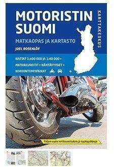Motoristin Suomi Matkaopas ja kartasto