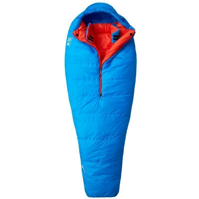 Mountain Hardwear HyperLamina Flame Sleeping Bag (Regular) 195 Left Hyper Blue