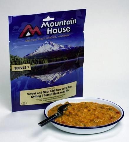 Mountain House Hapanimeläkanaa