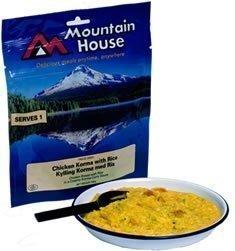 Mountain House Korma-Kanaa Riisillä