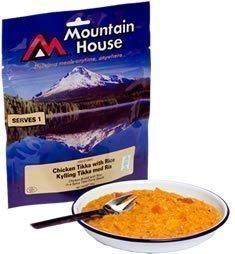 Mountain House Tikka-Kanaa Riisillä