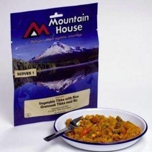 Mountain House Tikka-kasviksia ja riisiä