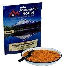 Mountain House hapan-imelä-kanaa riisillä