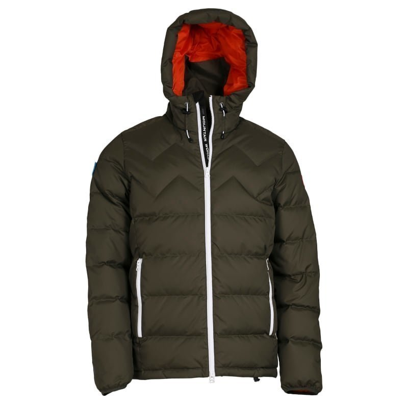 Mountain Works Ms Nations Sport Parka L Military