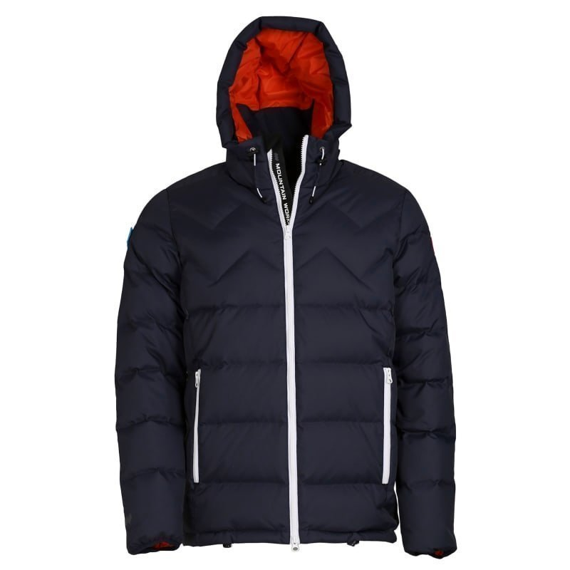 Mountain Works Ms Nations Sport Parka L Navy