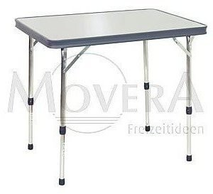 Movera Rectangular aluminium table retkipöytä