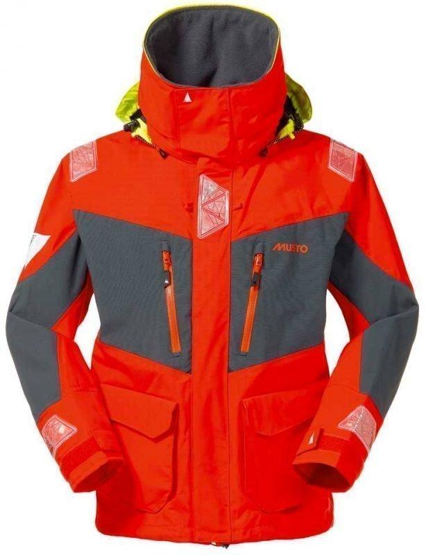 Musto BR2 Offshore Jacket Oranssi L