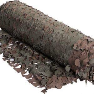 Naamioverkko 2 m leveä vihreä/ruskea metritavara