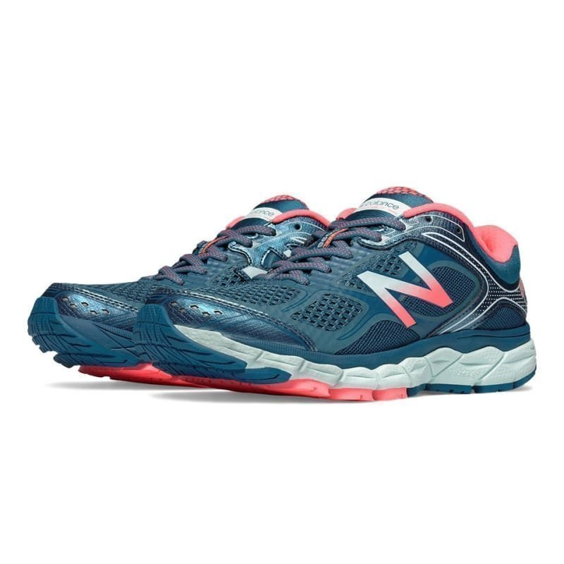 New Balance Women's 860v6 US 8/EU 39 Pink/Blue