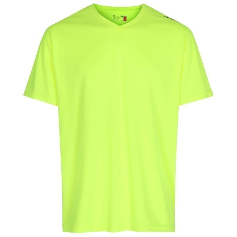 Newline Base Cool Tee 2XL Neon Yellow