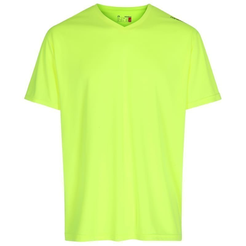 Newline Base Cool Tee L Neon Yellow