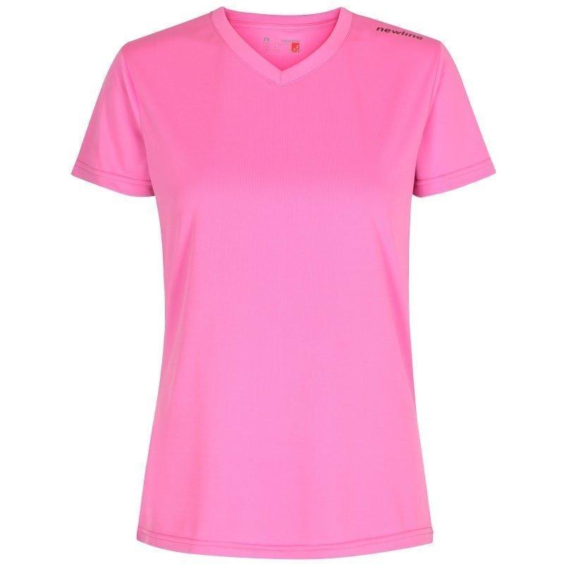 Newline Base Cool Tee S Race Pink