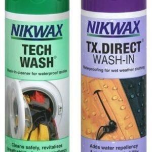 Nikwax Duo Pack-Tech Wash/TX.Direct