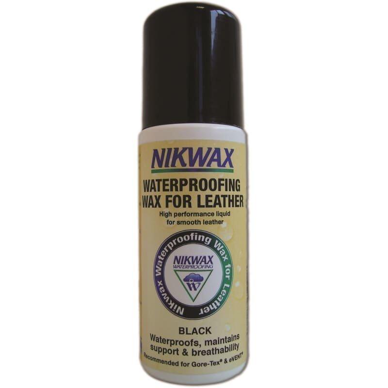 Nikwax Waterproofing Wax for Leather 125 ML Black