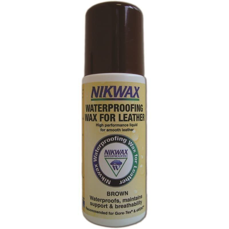 Nikwax Waterproofing Wax for Leather 125 ML Brown