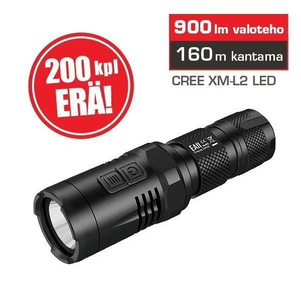 Nitecore EA11 LED-tehovalaisin 900lm