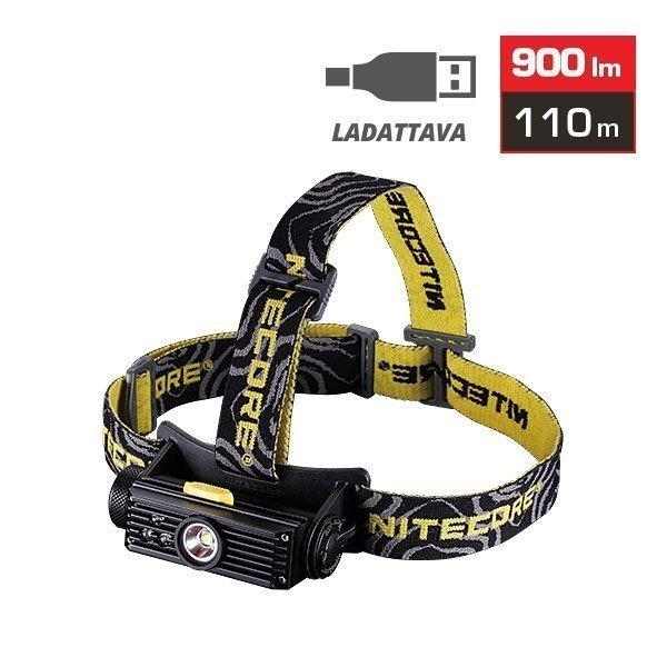 Nitecore HC90 otsalamppu - 900 lm