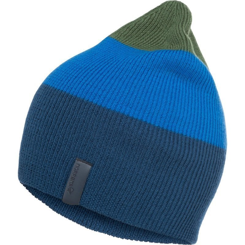 Norrøna /29 Striped Mid Weight Beanie 1SIZE Beyond Blue