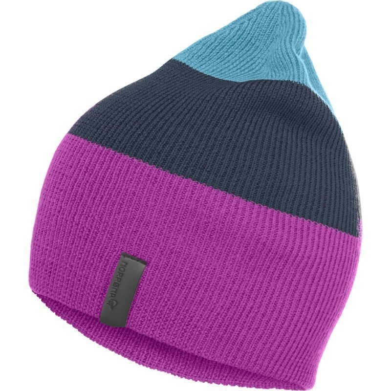 Norrøna /29 Striped Mid Weight Beanie 1SIZE Pumped Purple