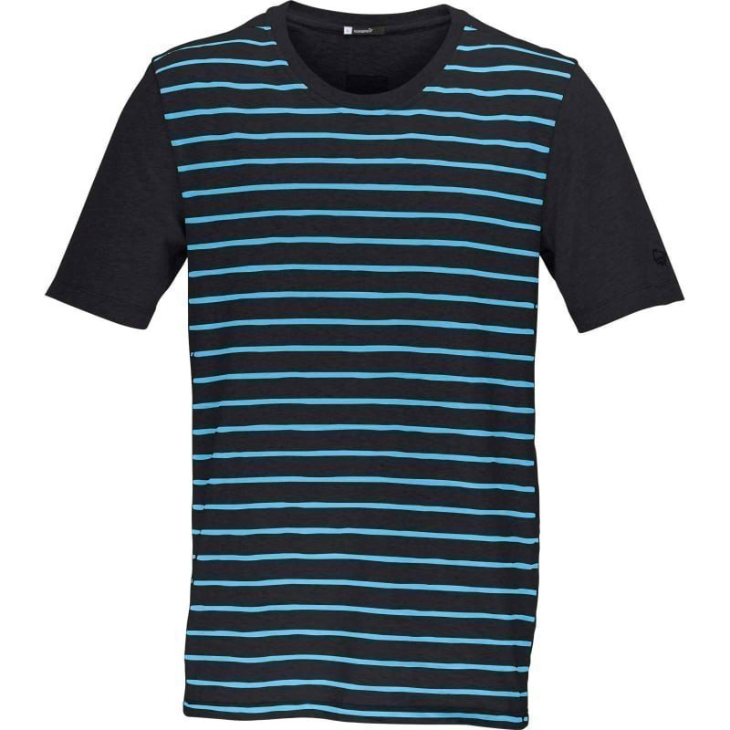 Norrøna /29 cotton T-Shirt (M) L PHANTOM/CARIBBEAN BLUE